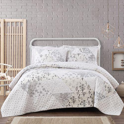 Cottage Classics Kamala Floral Quilt Set