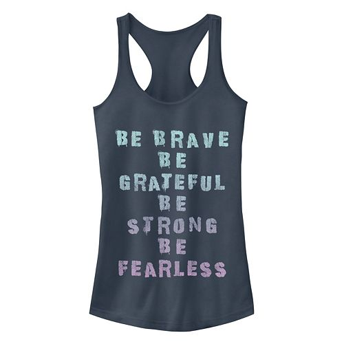 Junior's Chin-Up Be Brave Racerback Tank