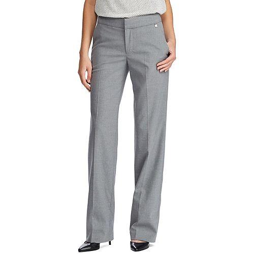 Women's Chaps Linden Grey Pants