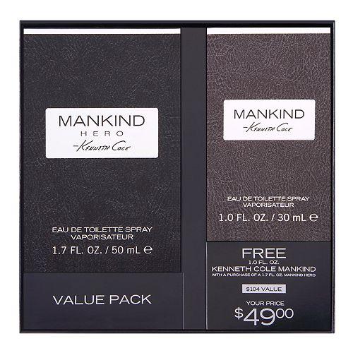 Kenneth Cole Mankind Hero Men's Cologne - Eau de Toilette ($104 Value)
