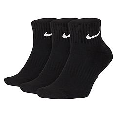 Men's Nike 3-pack Everyday Cushion Quarter Training Socks