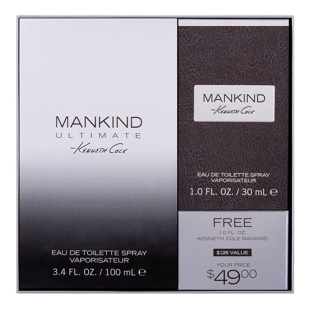 Kenneth Cole Mankind Ultimate Men's Cologne - Eau de Toilette ($126 Value)