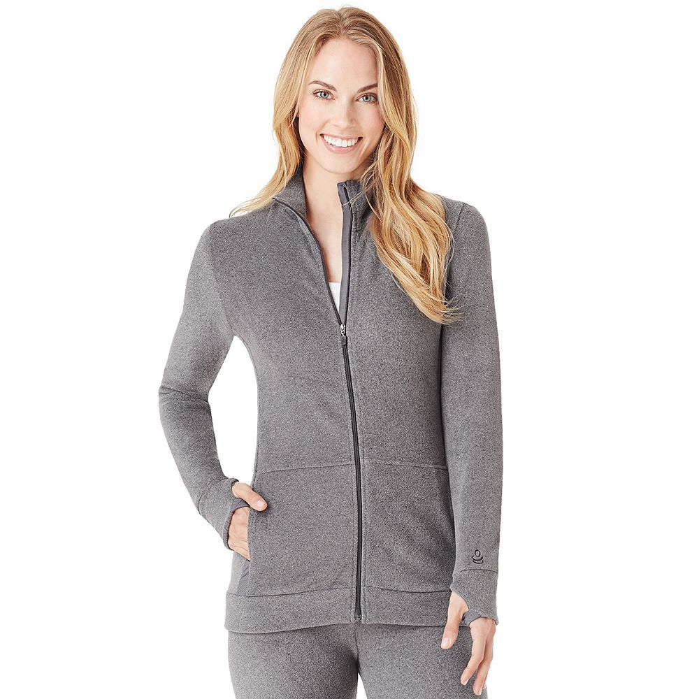 Women's Cuddl Duds® Full-Zip Fleecewear With Stretch Jacket