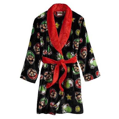 Boy's Nintendo Mario Robe by Licensed Character