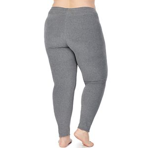 Women's Plus Size Cuddl Duds Fleecewear with Stretch Leggings