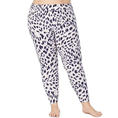 Women's Plus Size Cuddl Duds® Fleecewear with Stretch Leggings