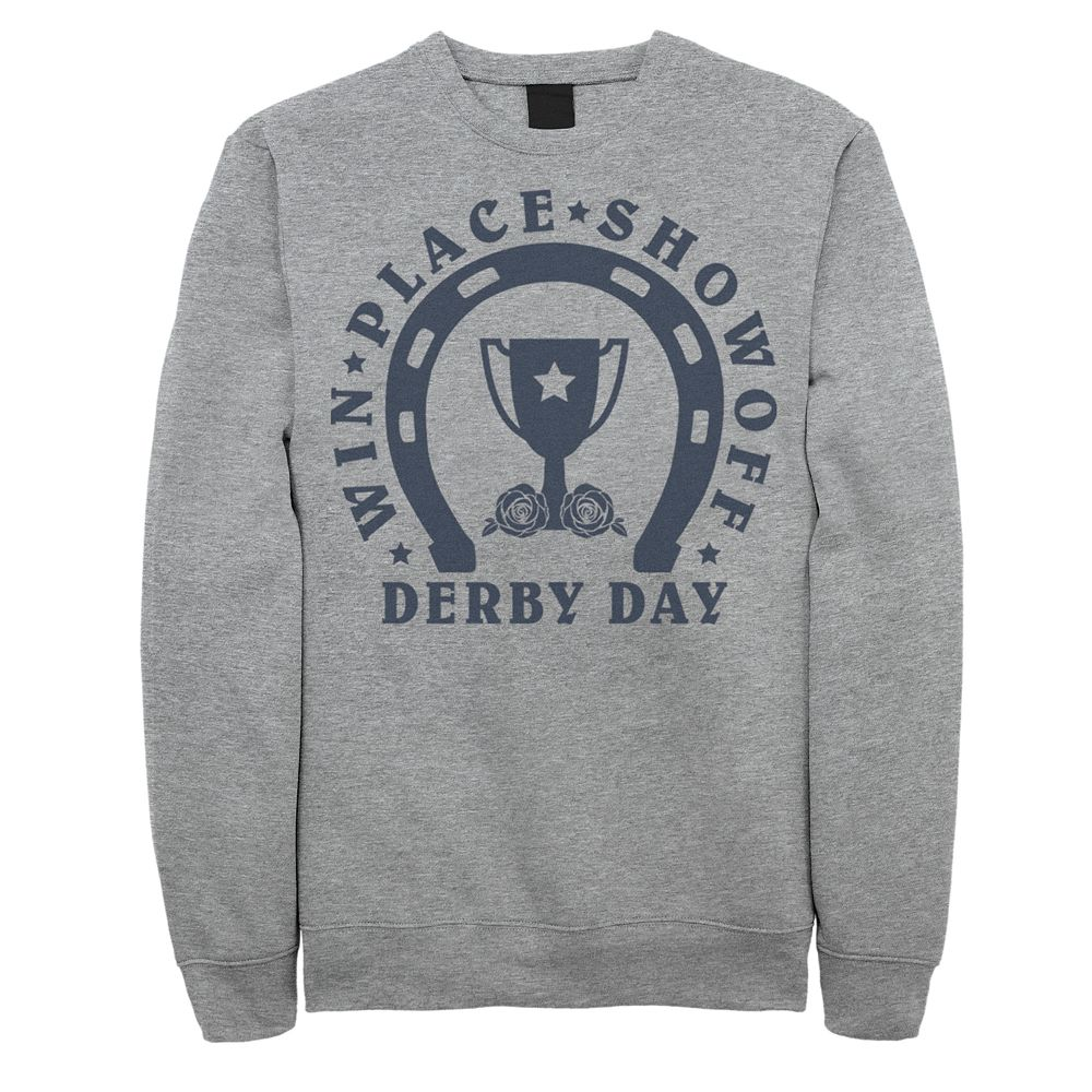 Men's Win Place Show off Derby Day Sweatshirt