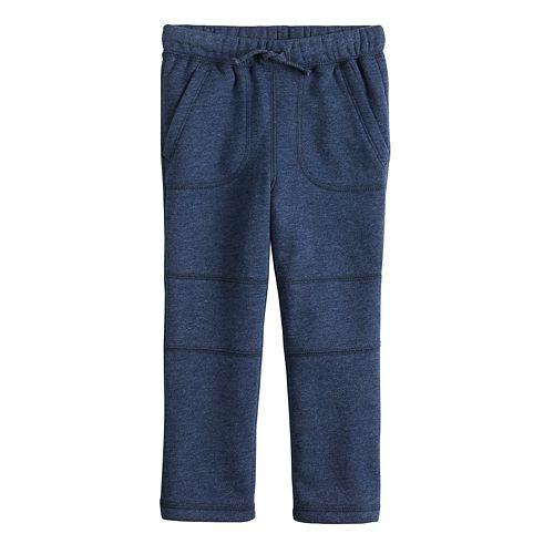 Baby Boy Jumping Beans® Knee Stitch Fleece Pants