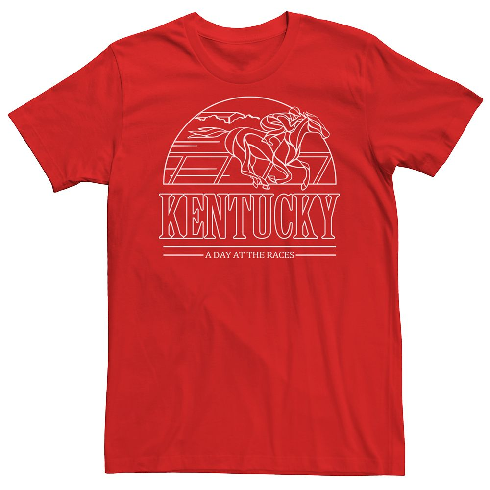 Men's Kentucky Day At The Races Tee