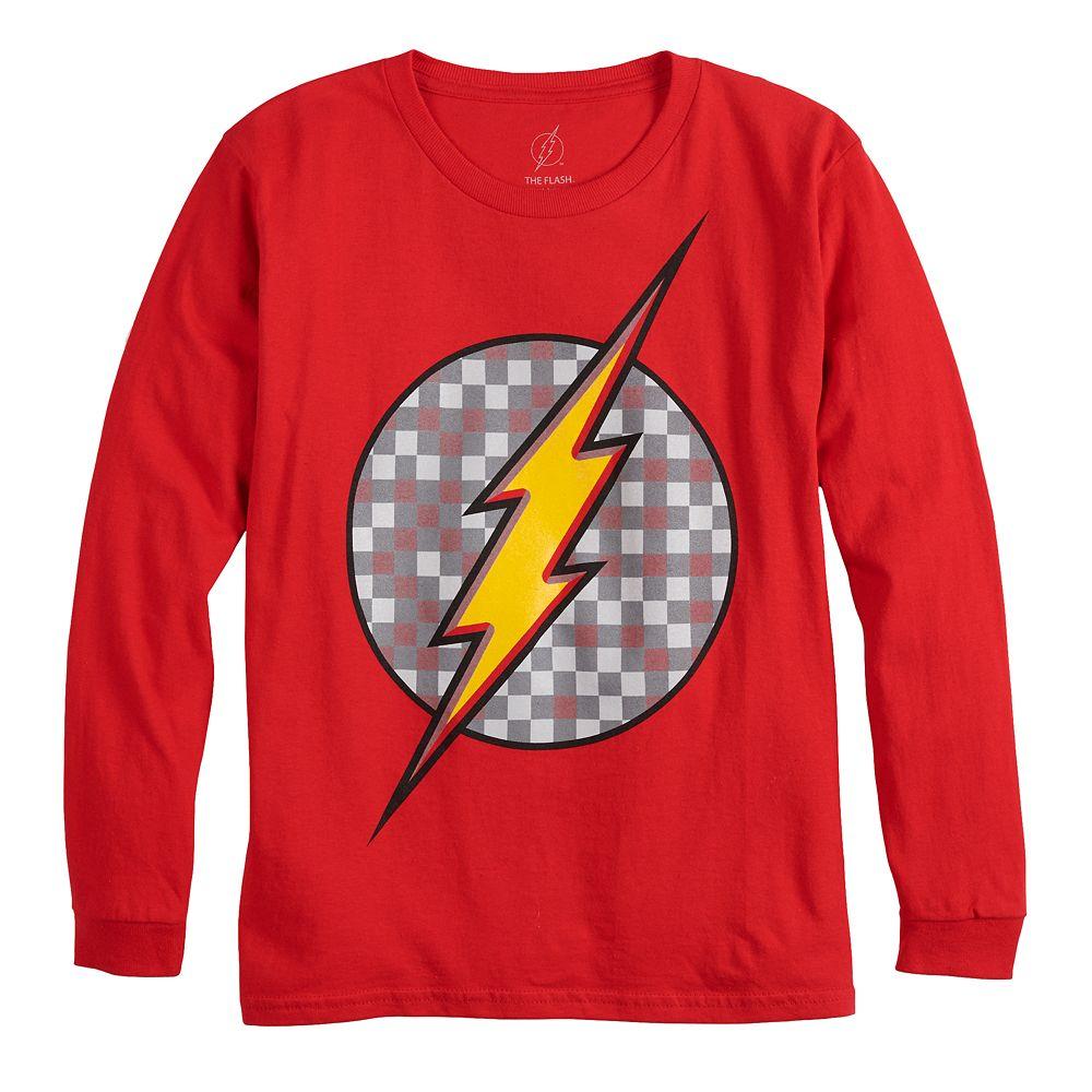 Boys 8-20 The Flash Logo Tee