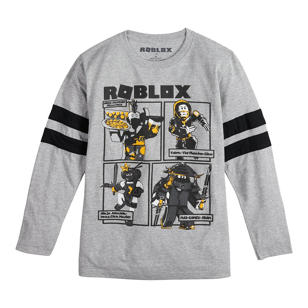 Boys 8-20 Roblox Striped Tee