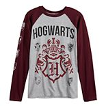 Boys 4-7 Harry Potter Hogwarts Crest Long Sleeve Shirt