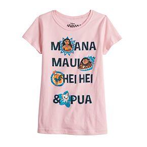 Girls 7-16 Disney® Moana Character Graphic Tee