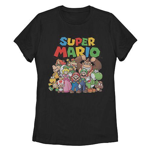 """""""Super Mario Bros"""" Missy Crew Tee"""