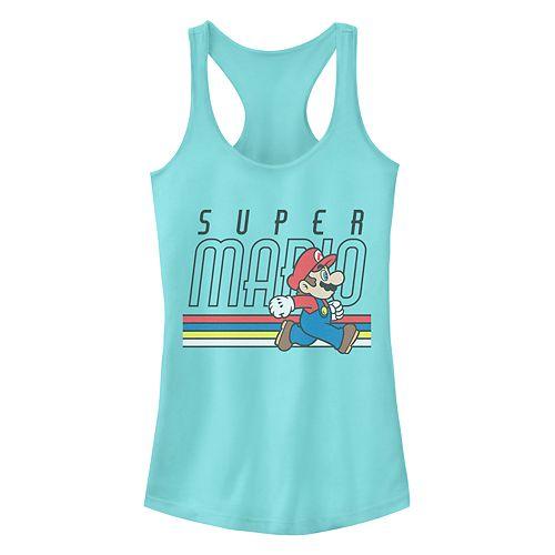 """""""Super Mario Bros"""" Racerback Tank"""