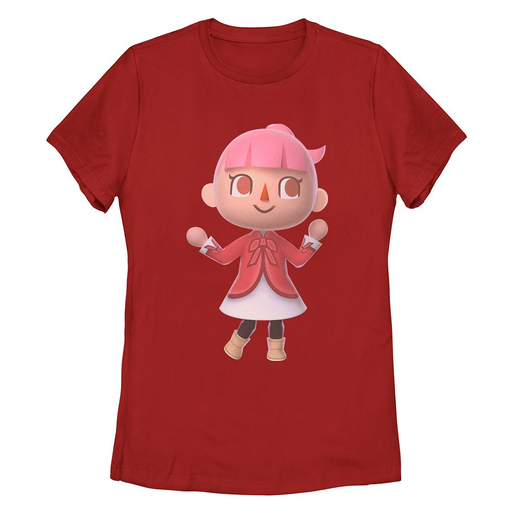 """Animal Crossing Lady Villager"" Missy Crew Tee"