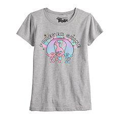 bf34ea031b Girls 7-16 Dreamworks Trolls 'Forever Shine' Graphic Tee