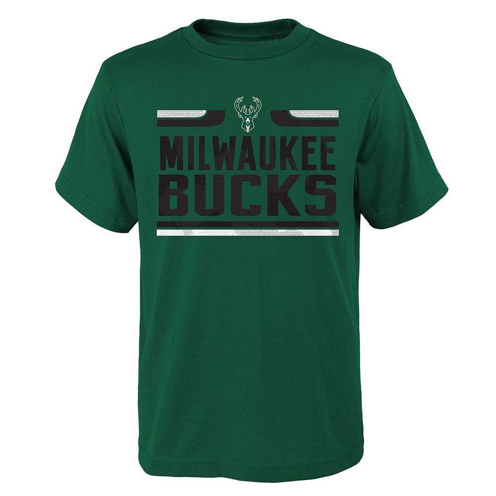 Boys 8-20 Milwaukee Bucks Horus Tee