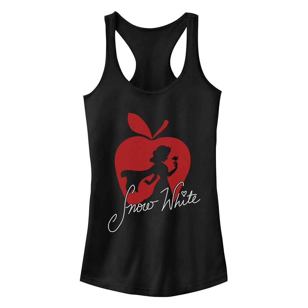 Juniors' Disney's Snow White and the Seven Dwarves Silhouette Racerback Tank Top