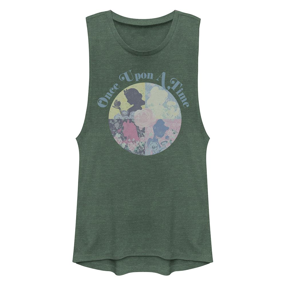 """Juniors' Disney's Princesses """"Once Upon a Time"""" Muscle Tank Top"""