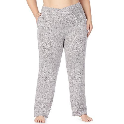 Plus Size Cuddl Duds® Soft Knit Lounge Pants