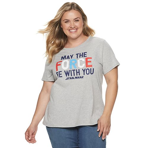 Plus Size Family Fun Star Wars Graphic Tee