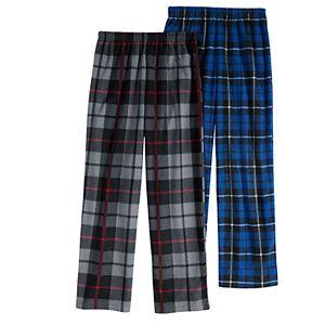 Boys 6-16 Cuddl Duds 2-Pack Pajama Pants