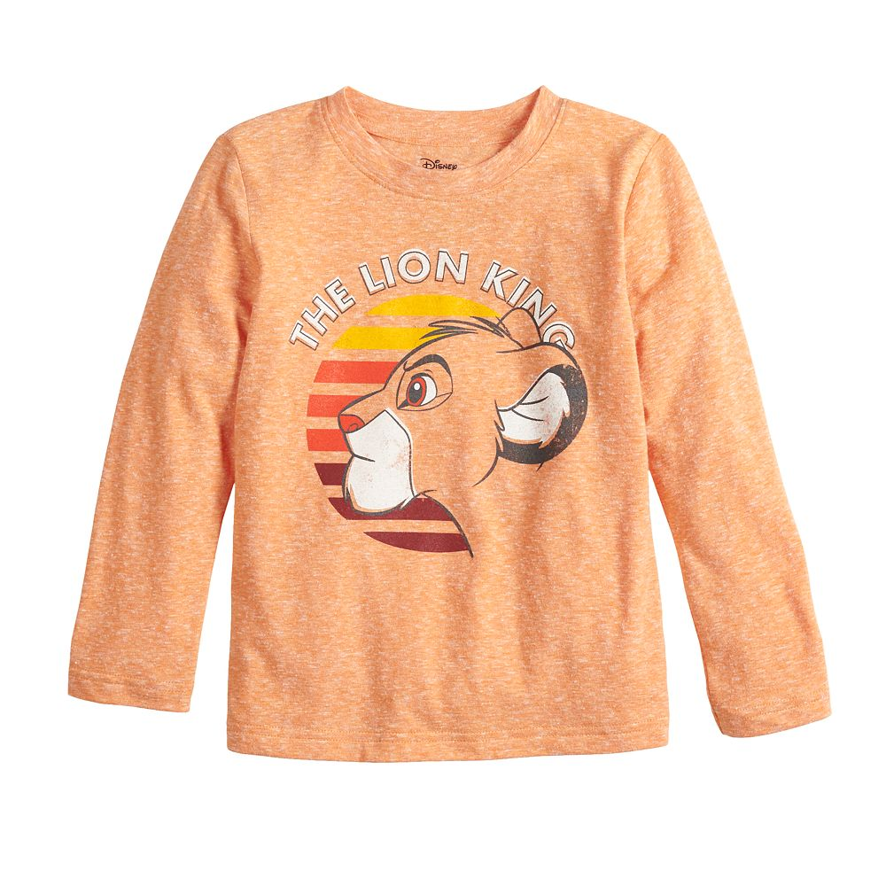 Disney's The Lion King Toddler Boy Simba Graphic Long Sleeve Tee by Jumping Beans®