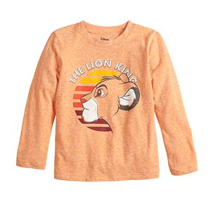Disney's The Lion King Toddler Boy Simba Graphic Long Sleeve Tee by Jumping Beans