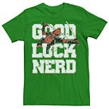 Men's Marvel Deadpool Good Luck Tee