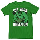 Men's Hulk Get Your Green On Tee