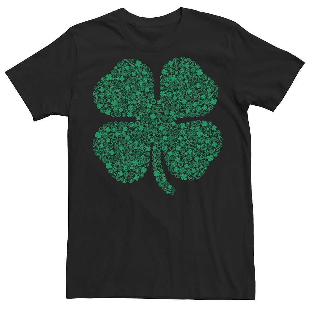 Men's Marvel Shamrock St. Patrick's Day Tee