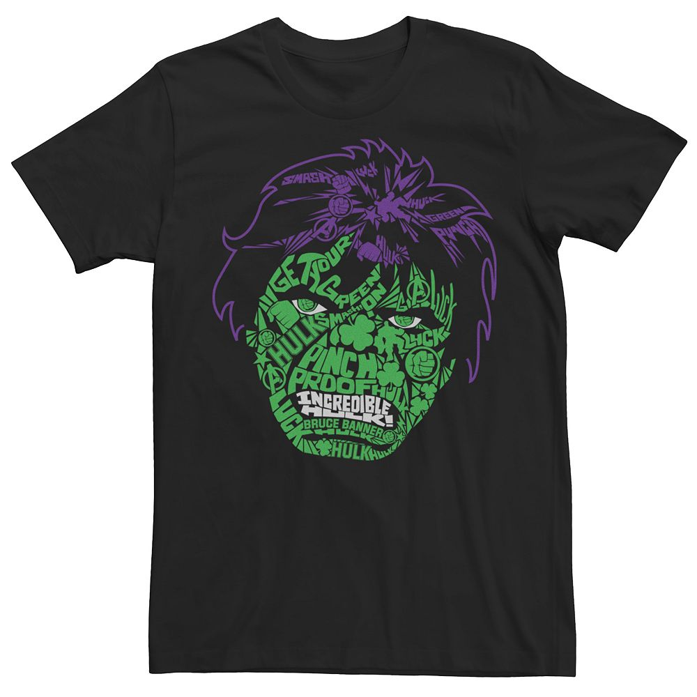 Men's Marvel Hulk Pinch Proof Tee