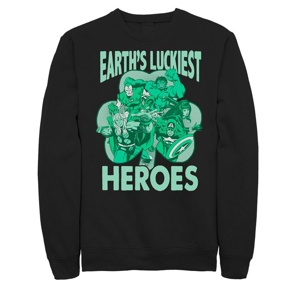 Men's Marvel Luckiest Heroes Pullover