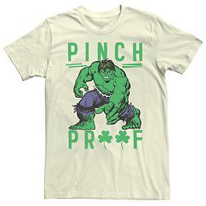 Men's Marvel Pinch Proof Hulk Tee