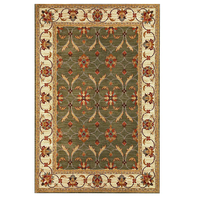 KAS Rugs Lifestyles Agra Rug, Green, 8Ft Rnd Liven up any floor with this KAS Rugs Lifestyles Agra rug. In green.FEATURES Durable plush pile Easy care CONSTRUCTION & CARE Polypropylene Pile height: 0.5'' Professional clean Manufacturer's 1-year limited warrantyFor warranty information please click here Imported Attention: All rug sizes are approximate and should measure within 2-6 inches of stated size. Pattern may also vary slightly. This rug does not have a slip-resistant backing. Rug pad recommended to prevent slipping on smooth surfaces. . Size: 8Ft Rnd. Gender: unisex. Age Group: adult.