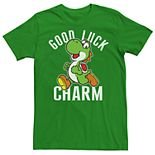 Men's Super Mario Bros Good Luck Tee