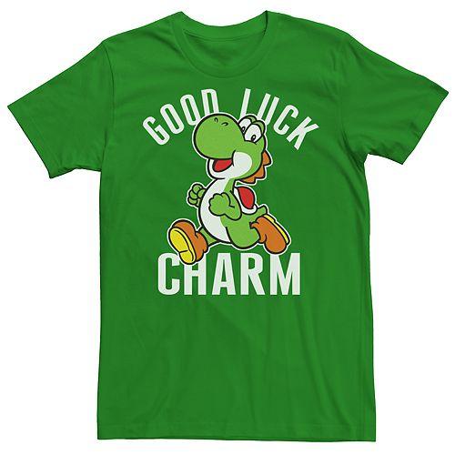 Men's Super Mario Bros Good Luck Tee