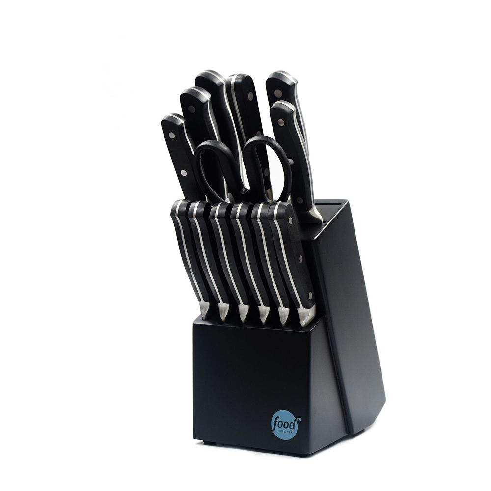 Food Network™ 14-pc. Triple-Rivet Knife Block Set