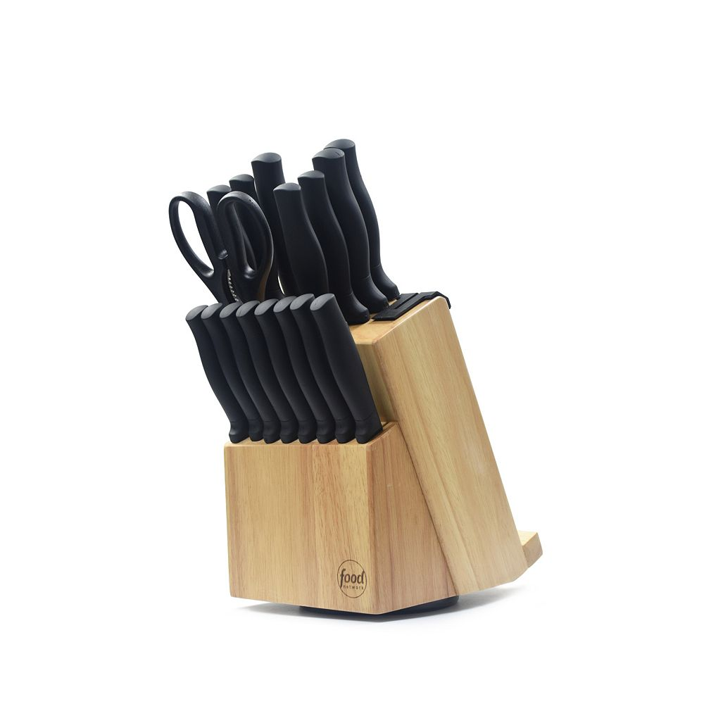 Food Network™ 17-pc. Knife Block Set