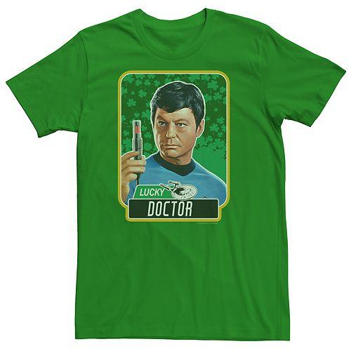 Men's Star Trek Dr. McCoy Lucky Tee
