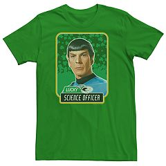 Men's Star Trek Officer Spock Lucky Tee