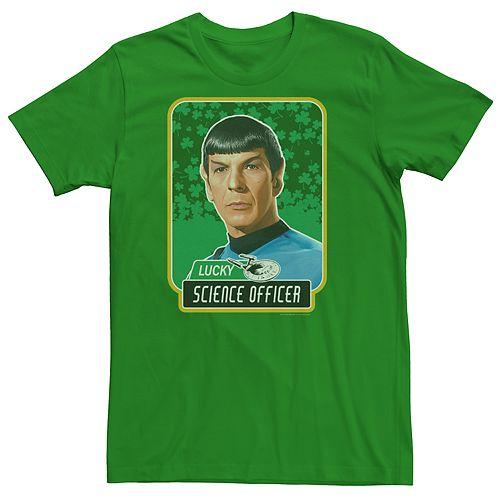 Men's Star Trek Officer Spock Lucky Tee
