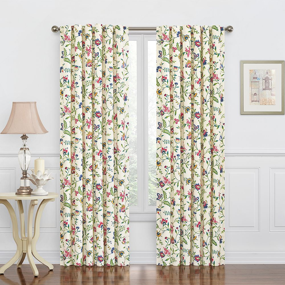 Waverly Carolina Crewel Window Curtain