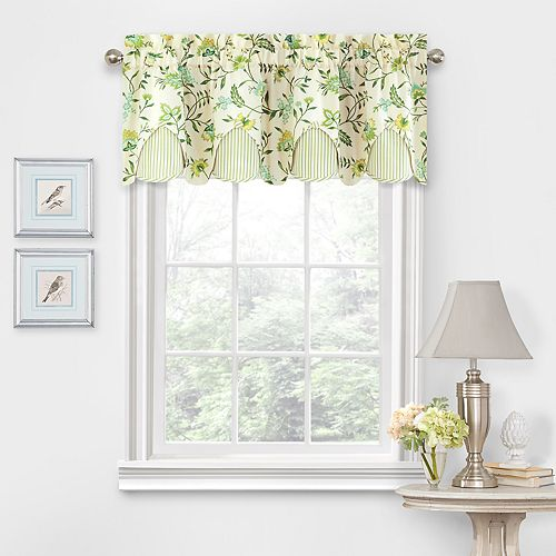 Waverly Carolina Crewel Window Valance