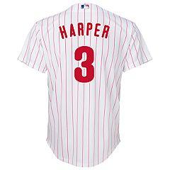 4068aa9320d2 Boys 8-20 Philadelphia Phillies Harper Jersey