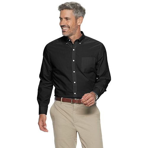 Men's Croft & Barrow Easy Care Long Sleeve Button Down Shirt by Croft & Barrow