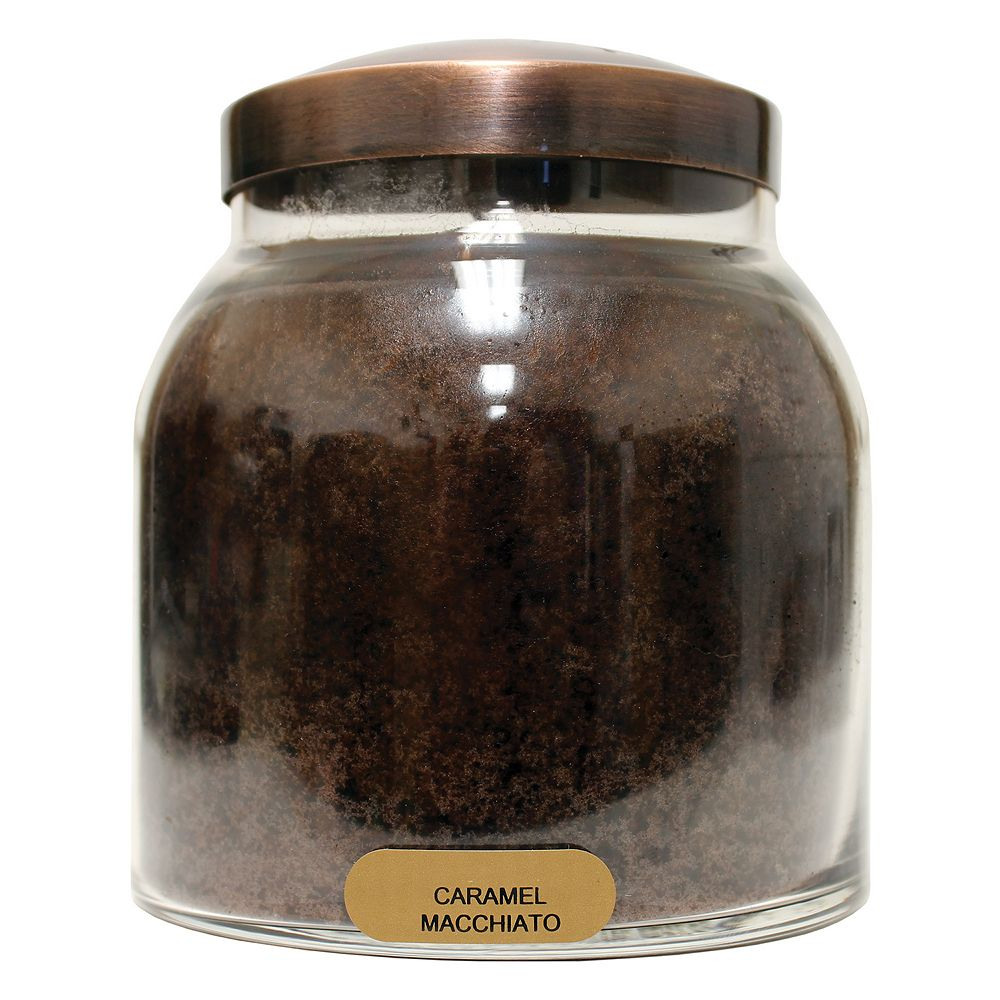 A Cheerful Giver Papa Jar Candle - Caramel Macchiato