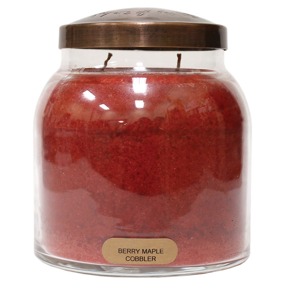A Cheerful Giver Papa Jar Candle - Berry Maple Cobbler