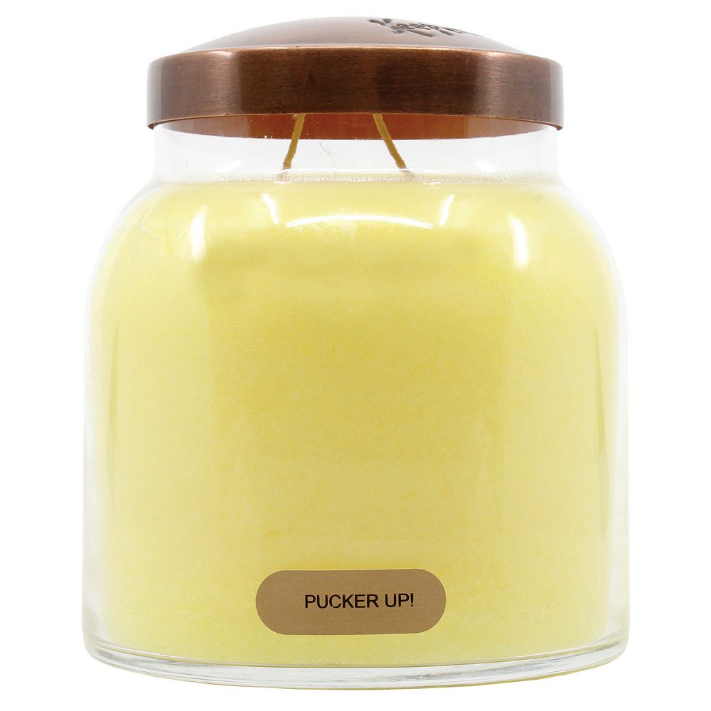 A Cheerful Giver Pucker Up 34-oz. Papa Jar Candle
